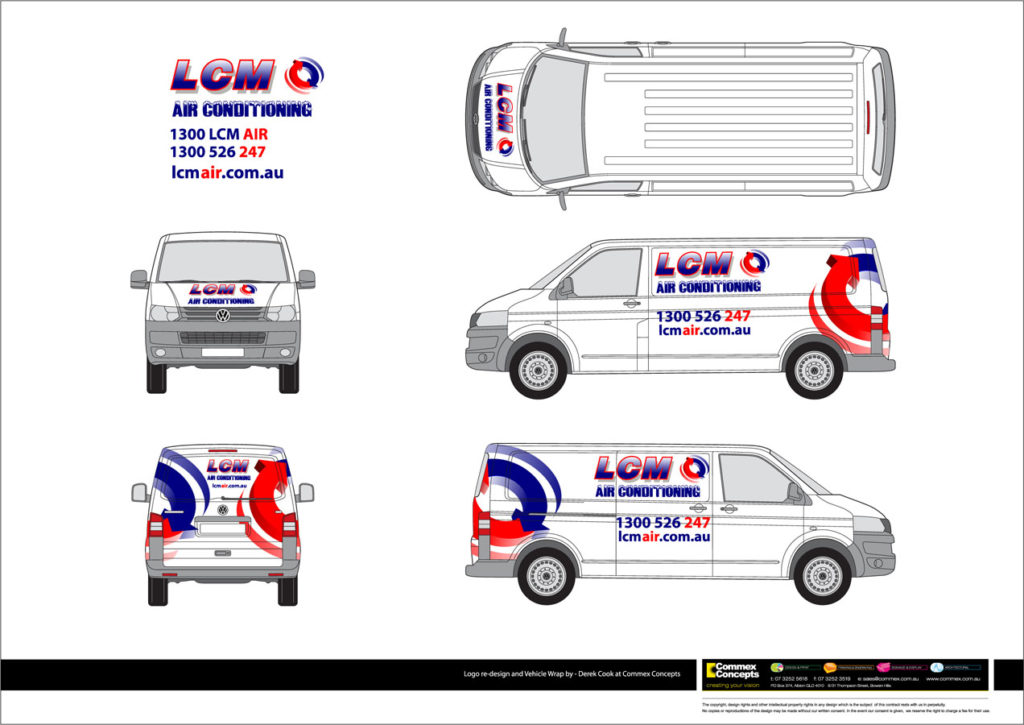 LCM Vehicle wrap concept art