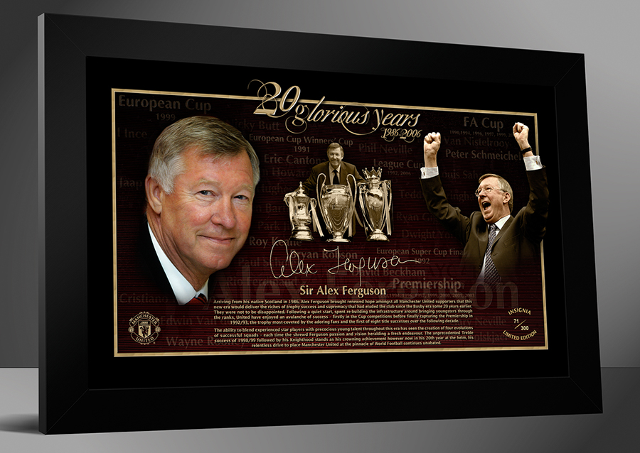 Alex Ferguson - 20 Glorious years