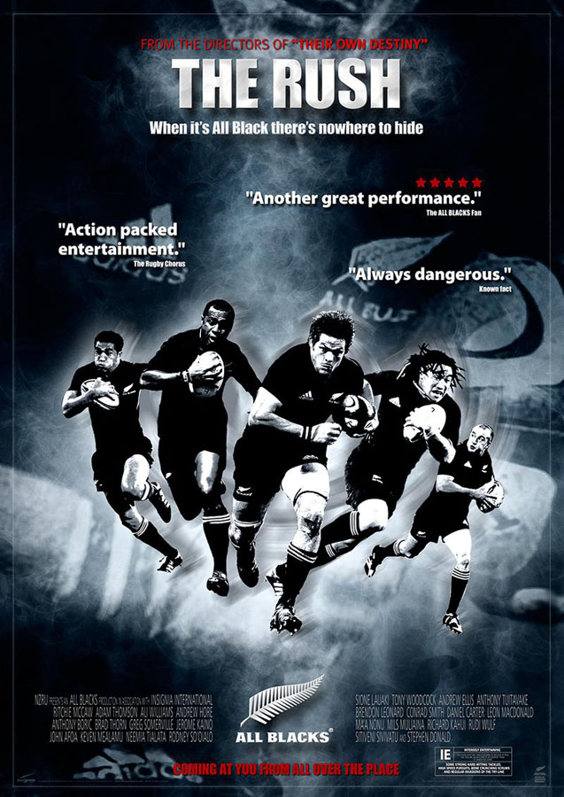 All Blacks - The Rush_poster