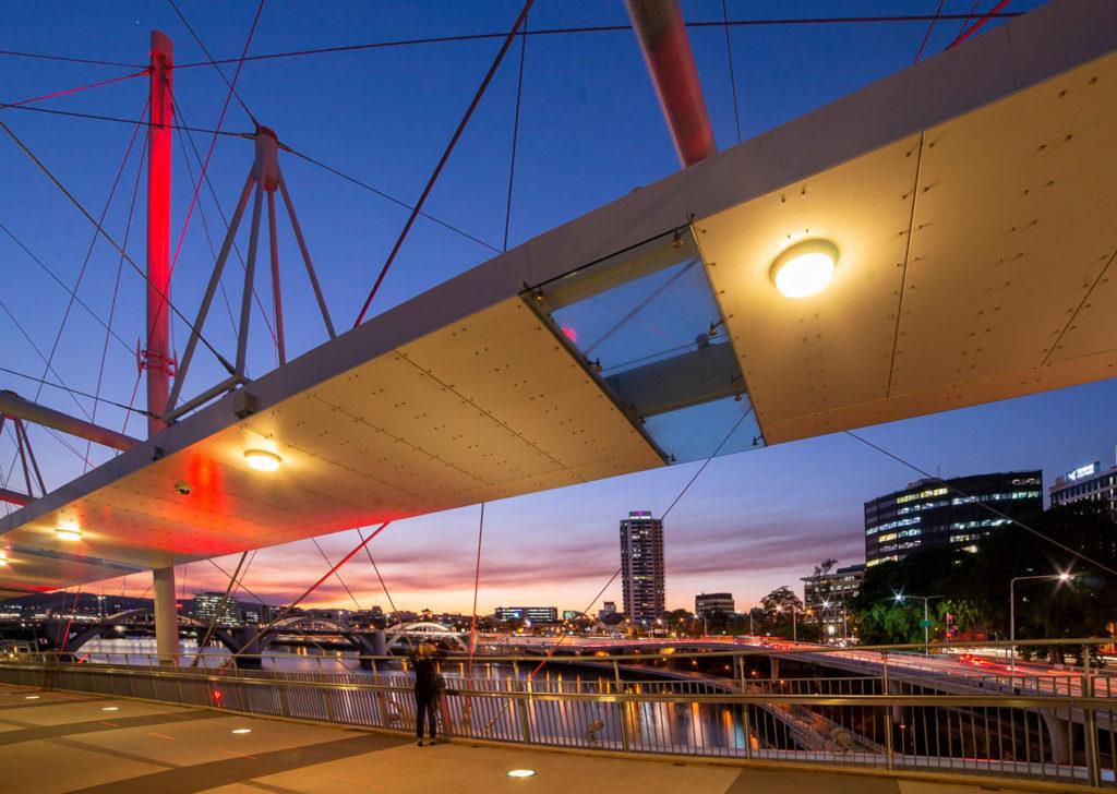 Brisbane Kurilpa Bridge
