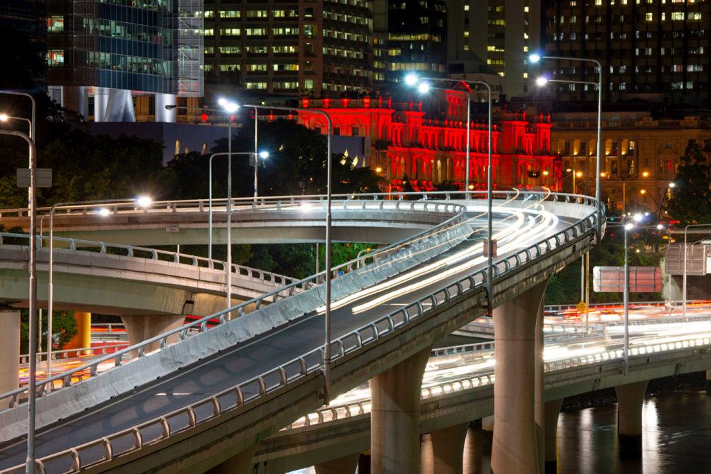 Brisbane Toowong flyover
