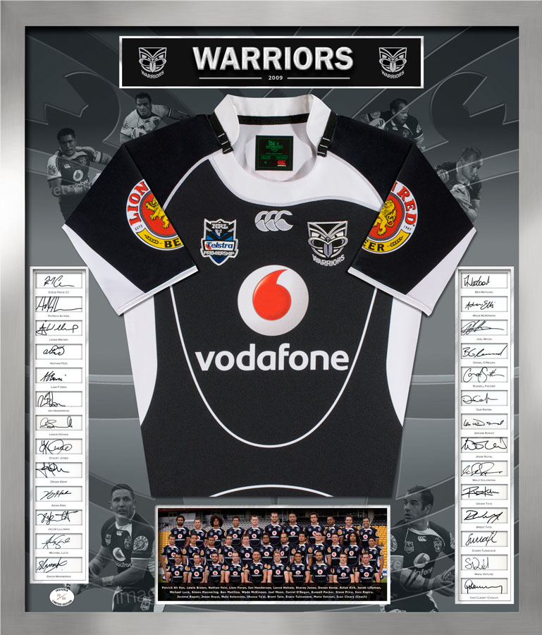 Full Size Jersey - NZ Warriors