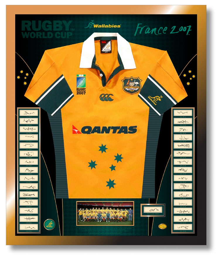 Full Size Jersey Wallabies Concept