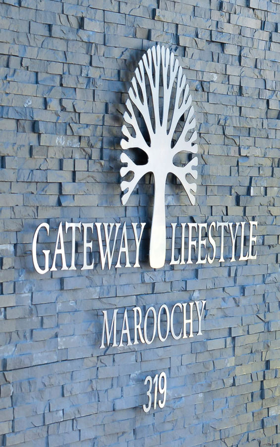 Gateway Lifestyle_Steel Sign