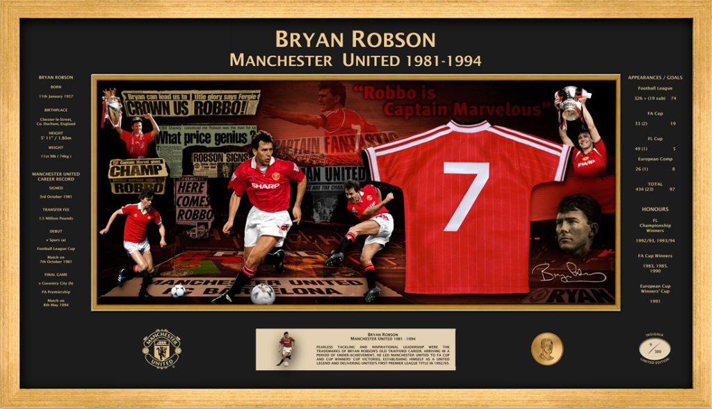 Legend Series - Bryan Robson
