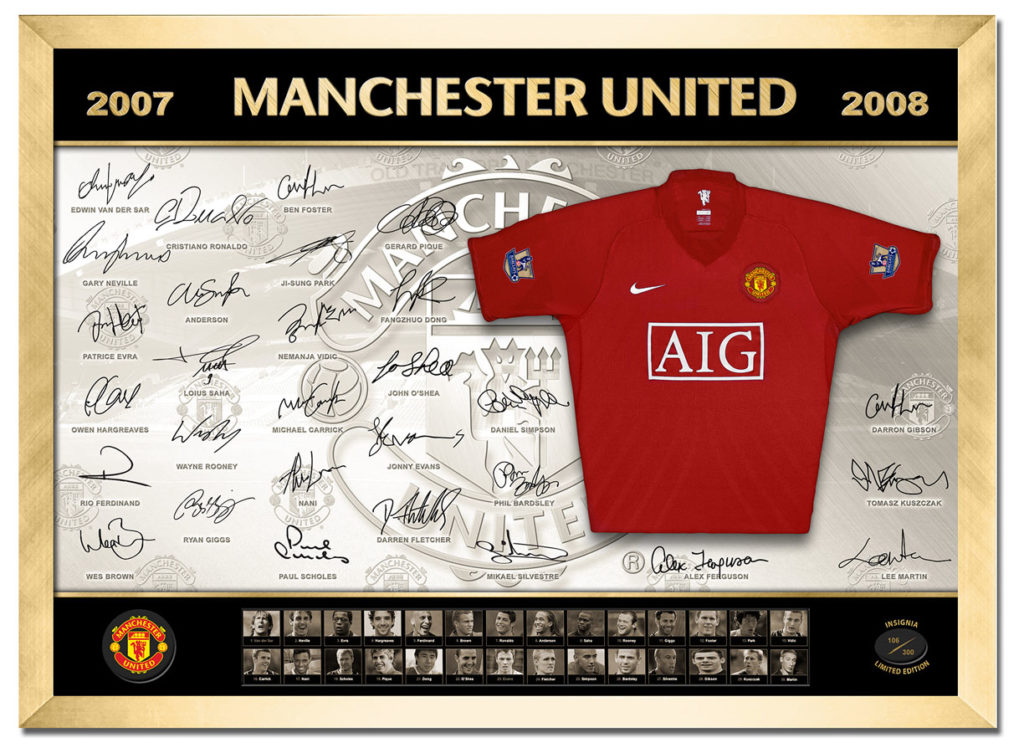 Minature Jersey - Manchester United