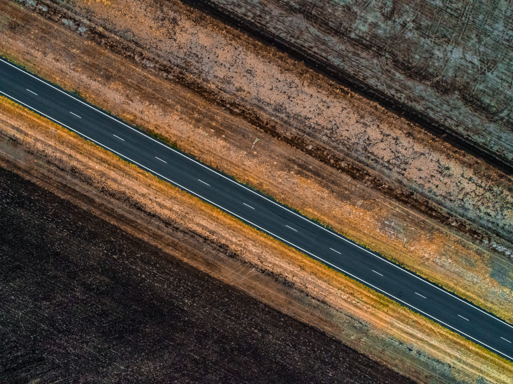 Outback Road_Aerial