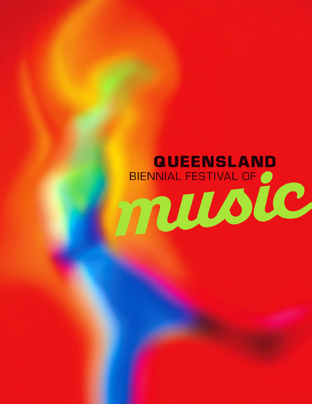 QLD Biennial of Music - poster