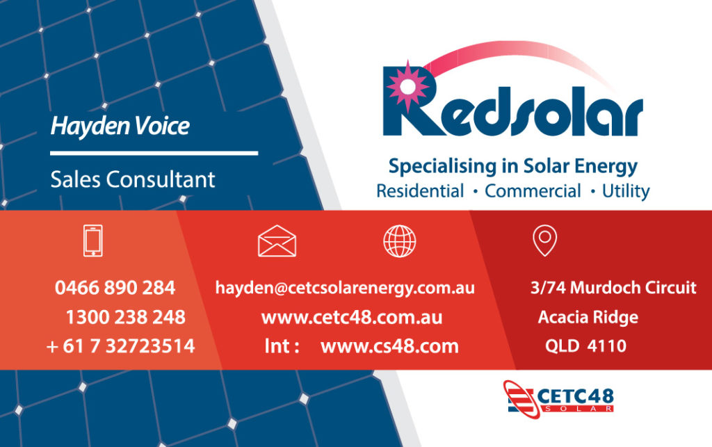 Redsolar - Business Card