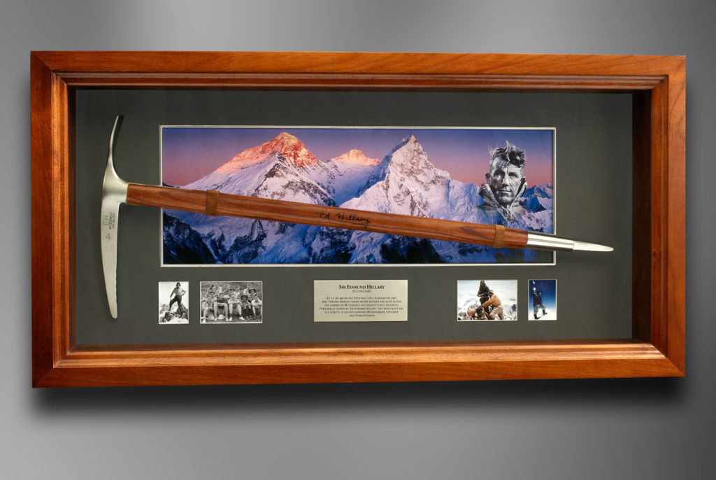 Sir Edmund Hillary - Mount Everest Replica Ice Axe