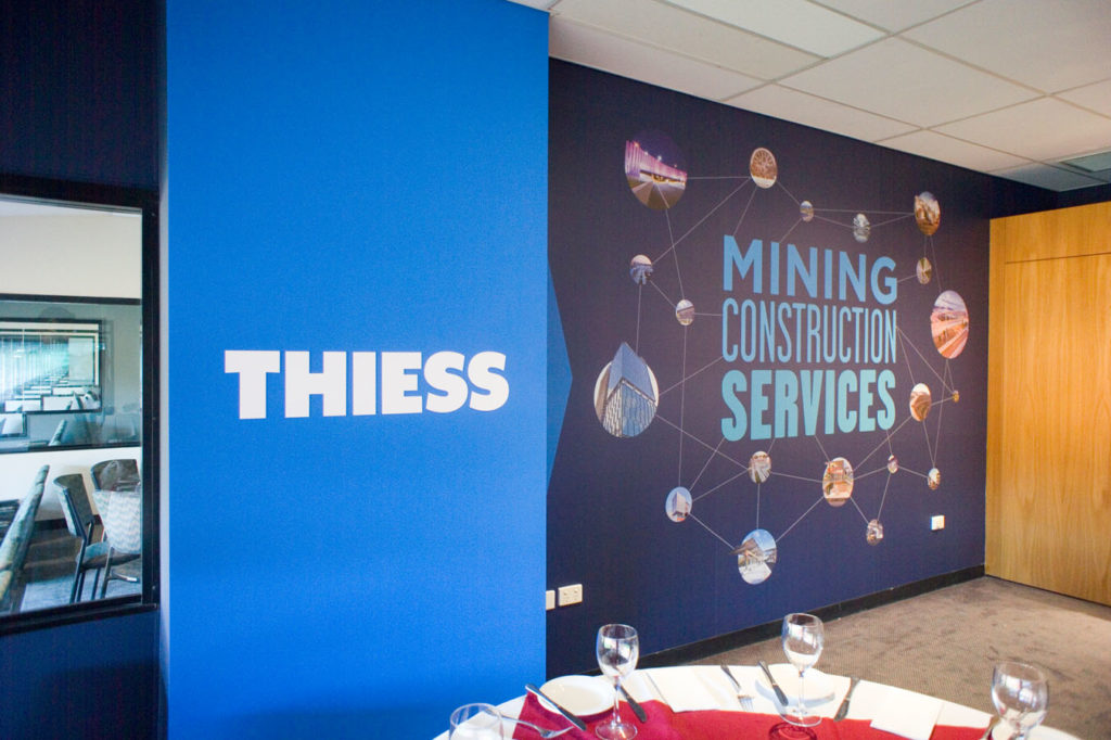 Thiess mining - Corporate box